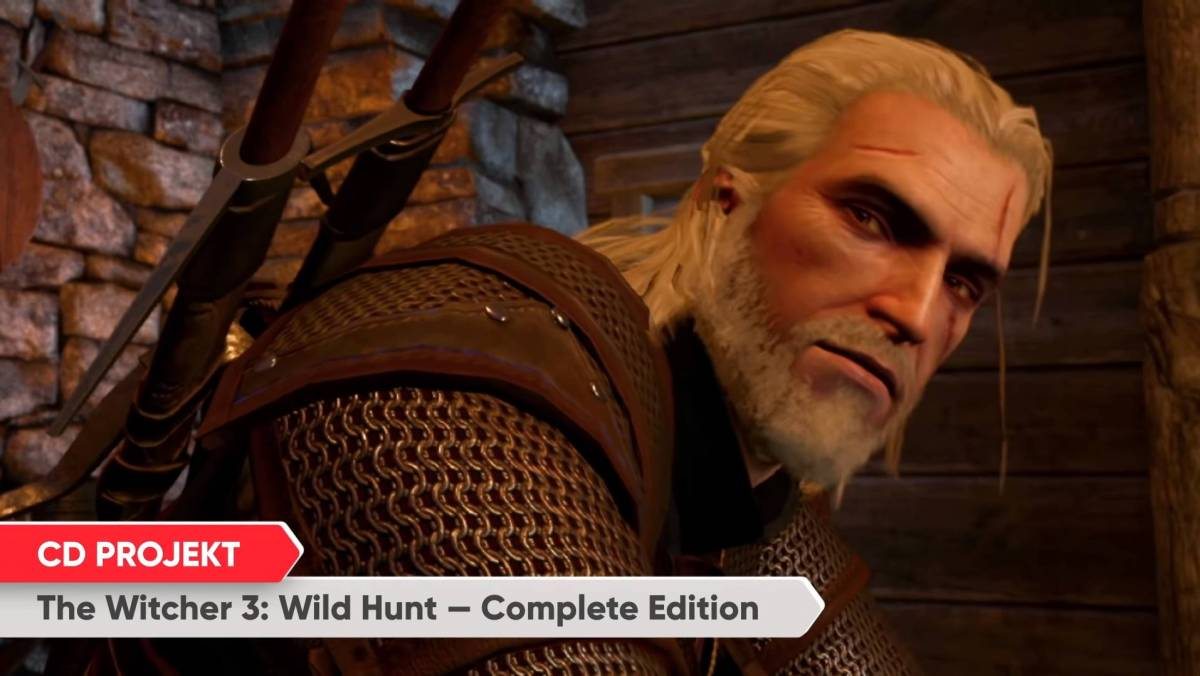 The Witcher 3 from the 9/4 Direct