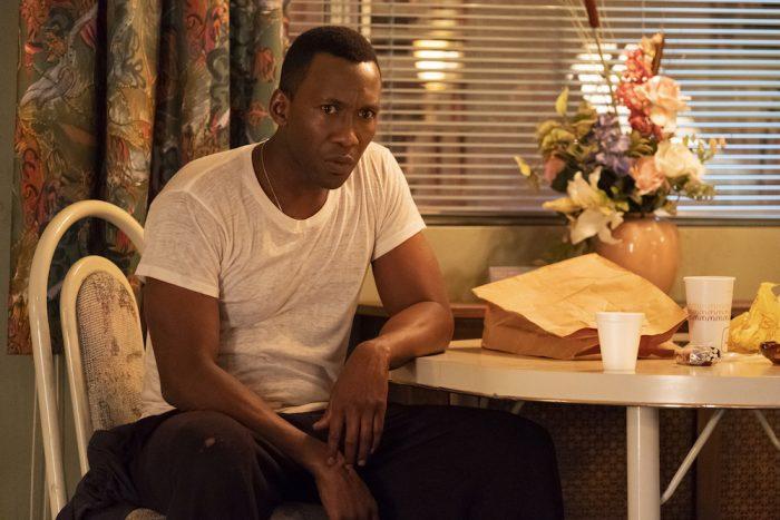 Franco (Mahershala Ali) sits at a table in Shark from season 2