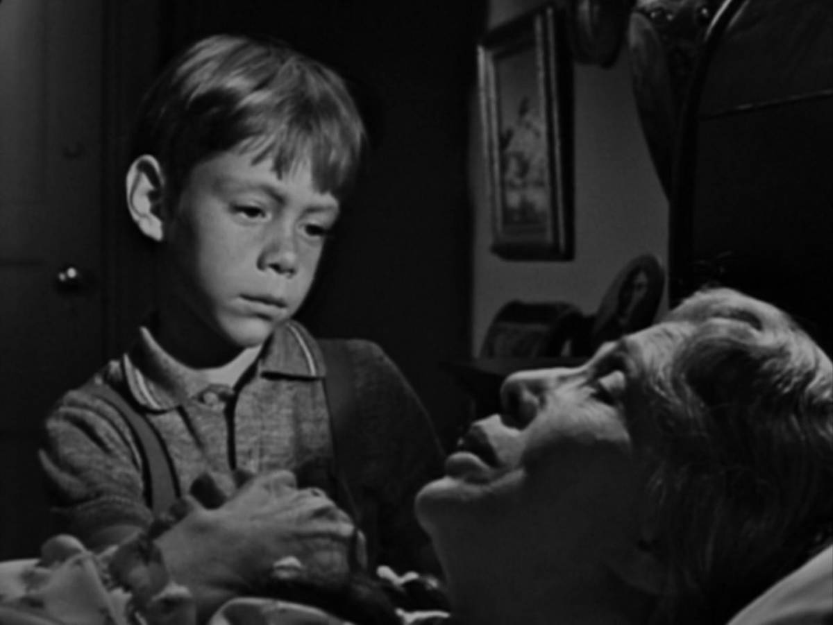 Billy will not be speaking to his Grandma for the last time in The Twilight Zone