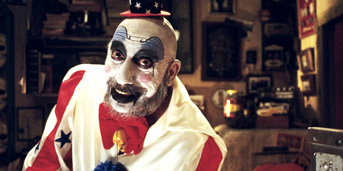 Tutti Frutti, Sid Haig as the clown in House of 1000 corpses