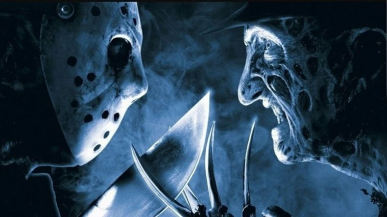 Freddy Krueger and Jason Voorhees face off