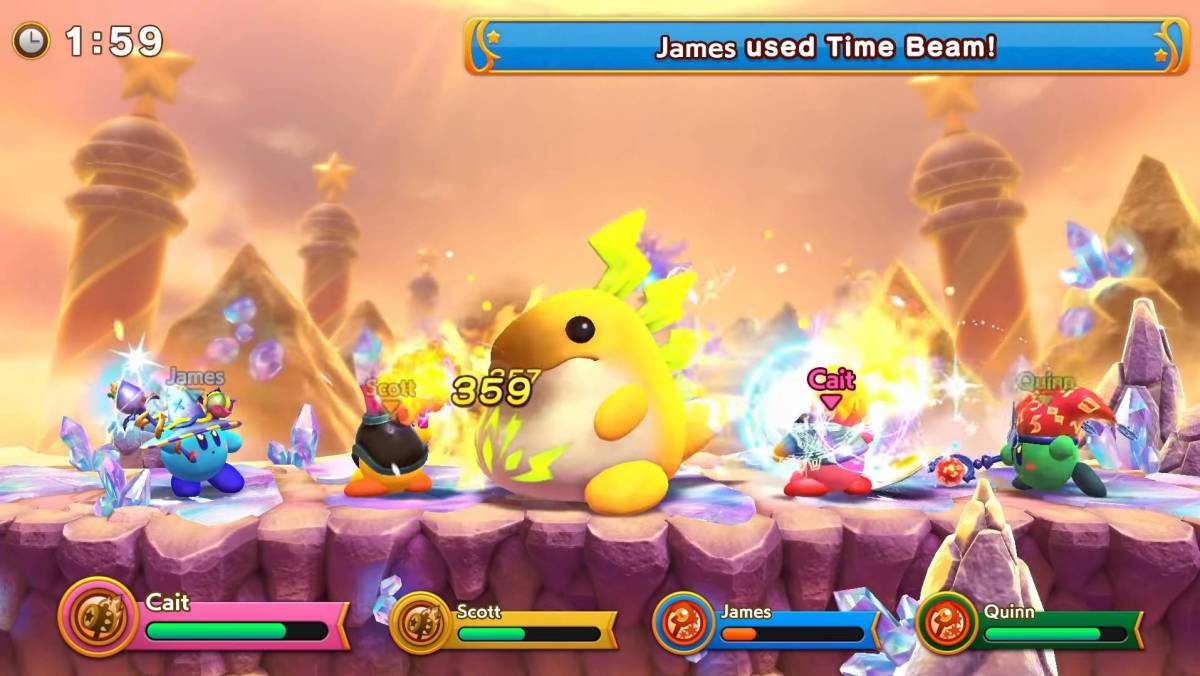 Super Kirby Clash from the 9/4 Direct