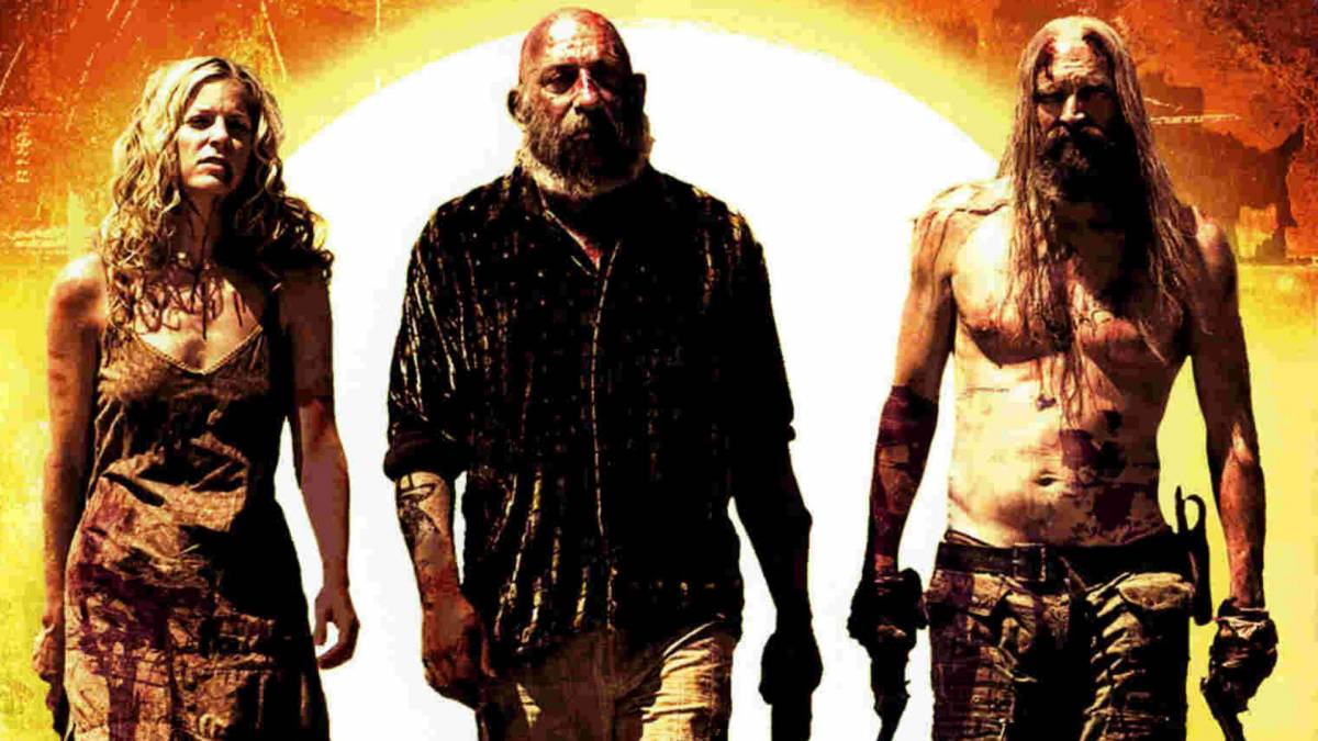 The Devils Rejects walk down the street