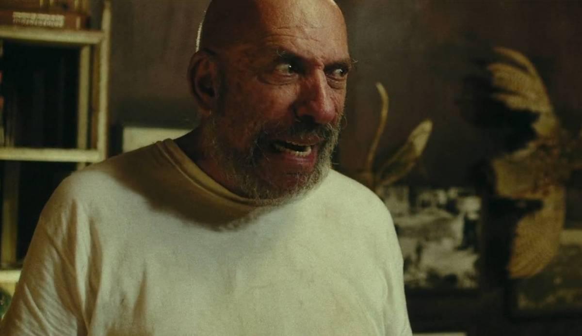 Sid Haig looks evil in Hatchet