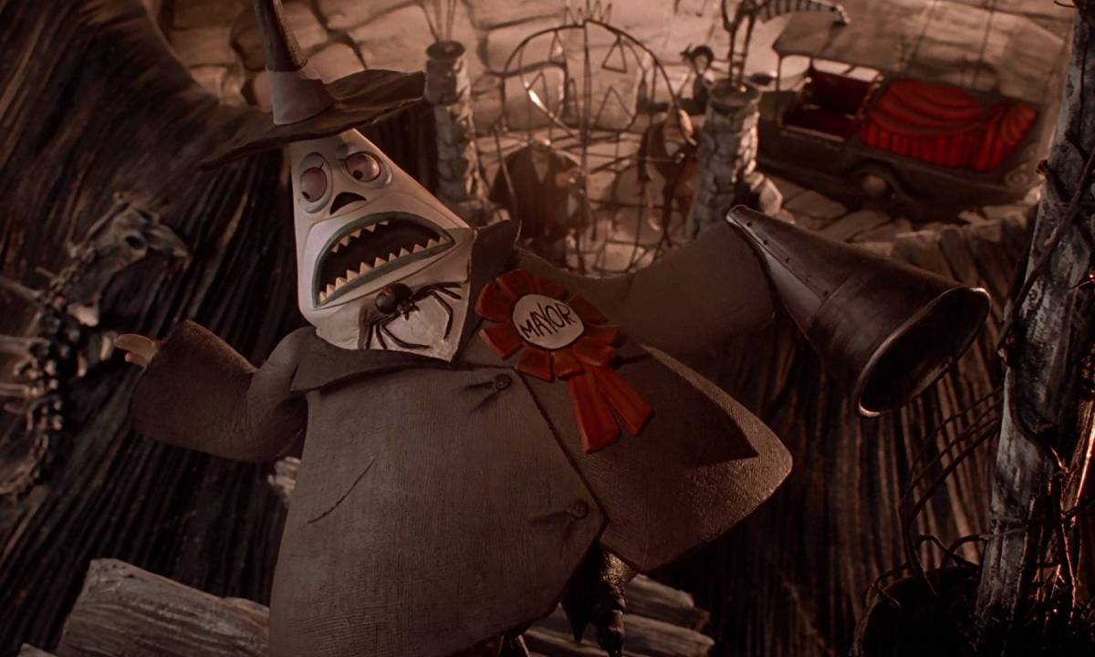 Mayor in Nightmare Before Christmas
