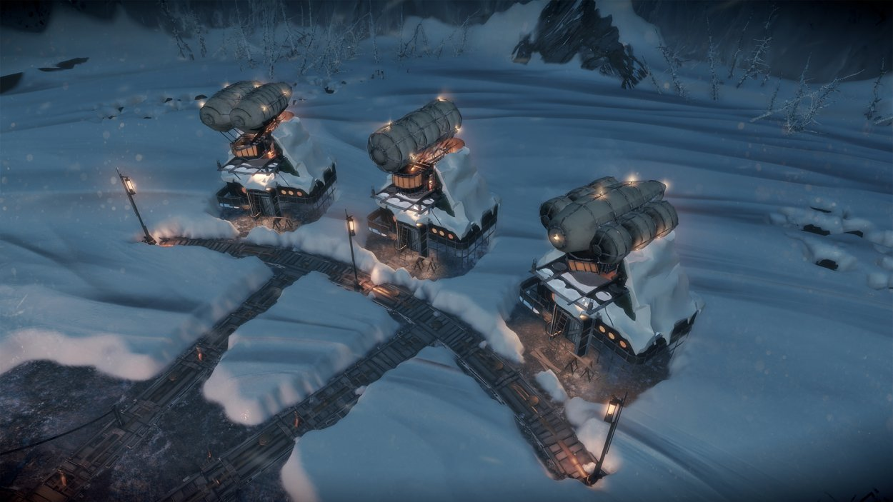Frostpunk homes