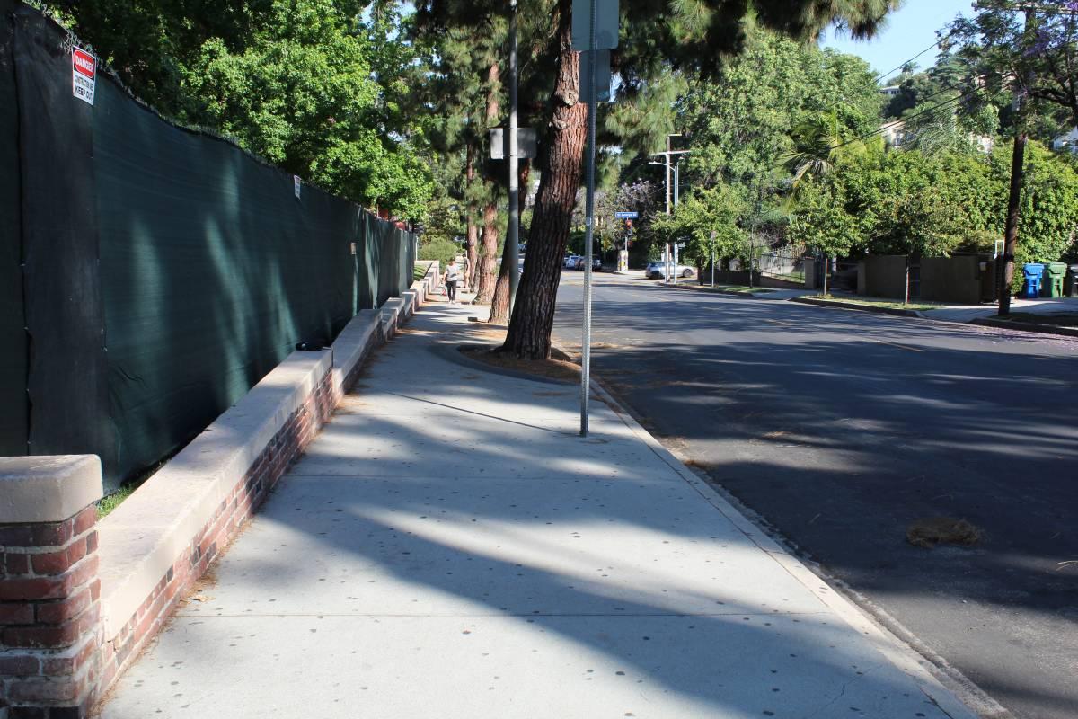 Location street scene from Nightmare on Elm Street