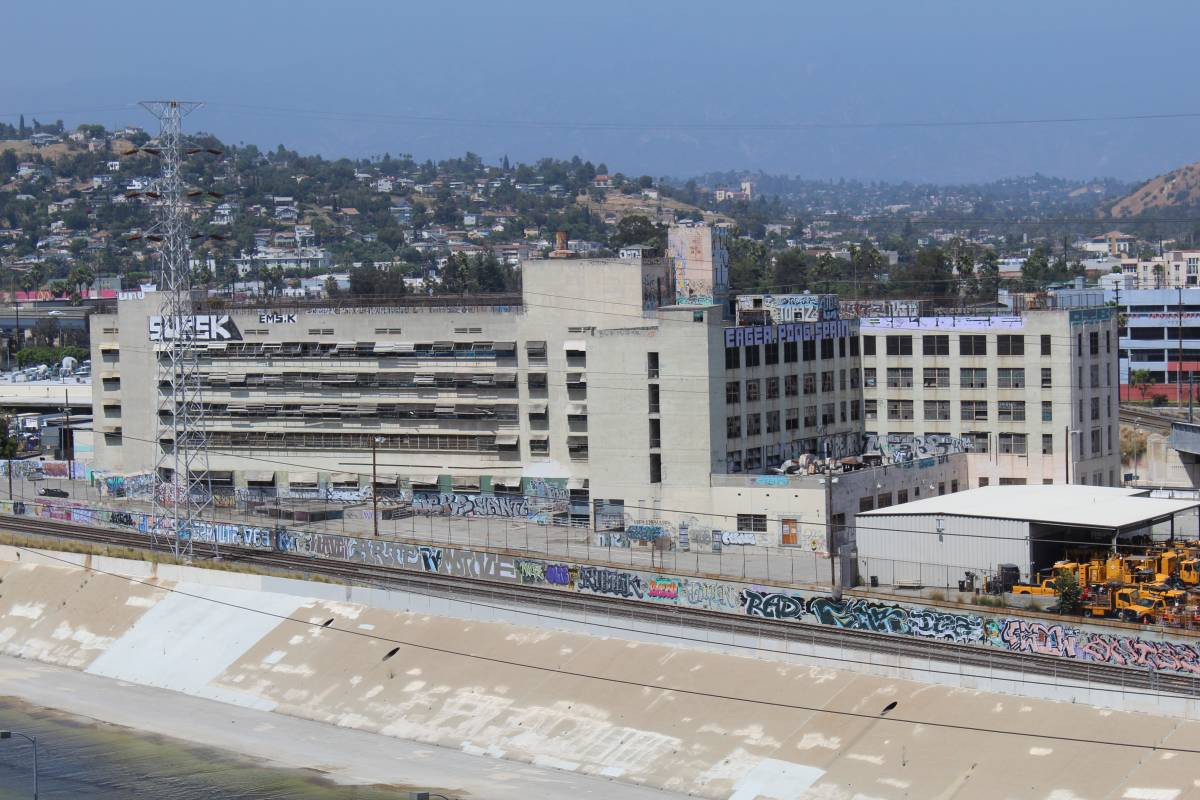Lincoln Heights Jail in the Lincoln Heights neighborhood of Los Angeles