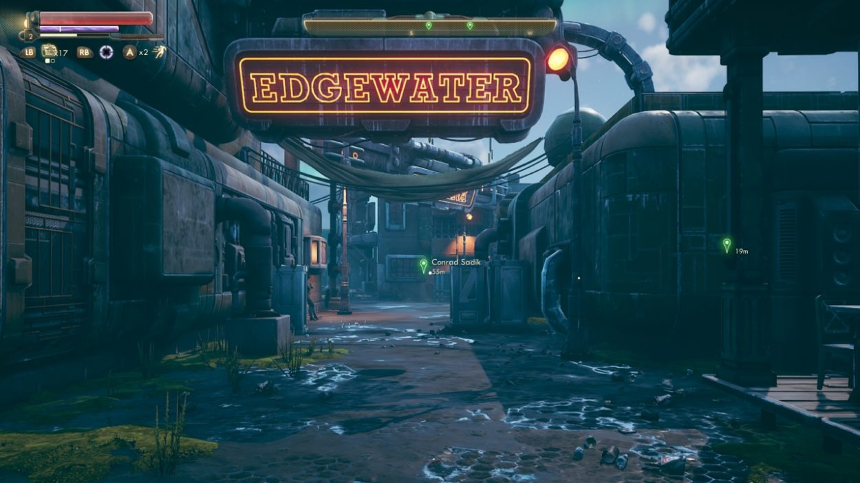The Outer Worlds Edgewater