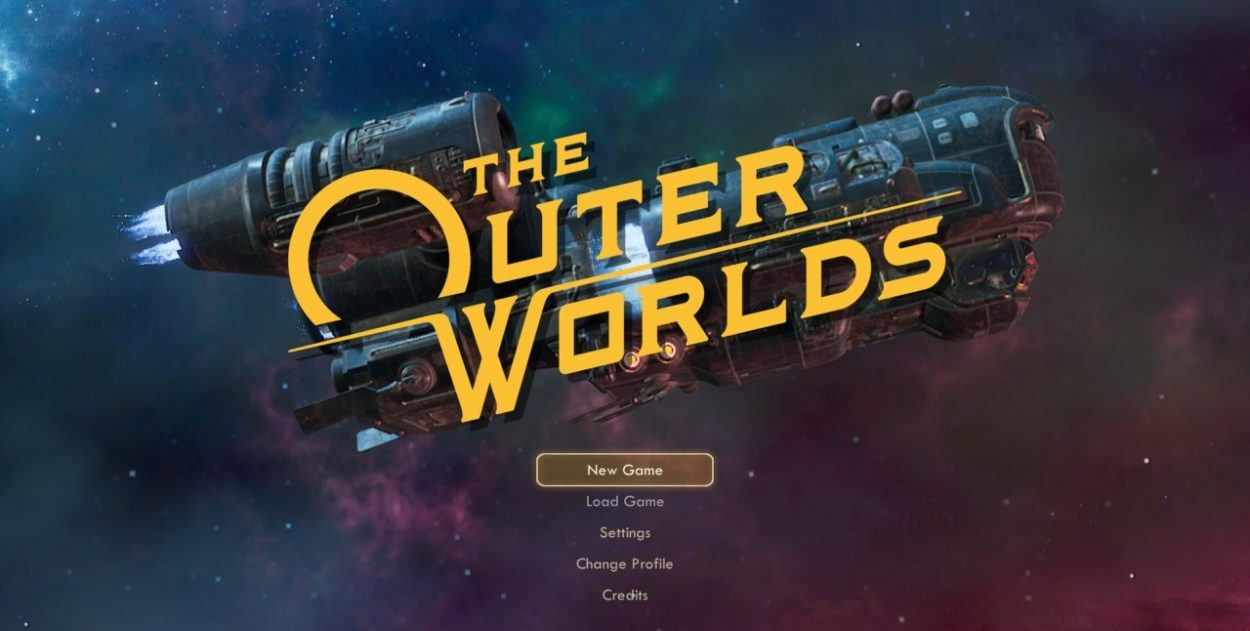 The Outer Worlds Title Page