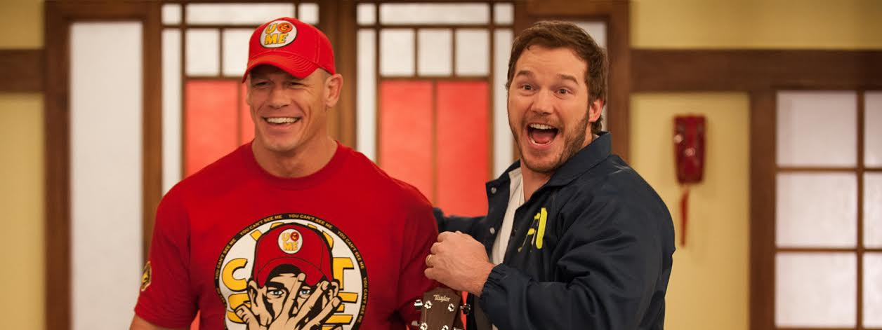 Andy is very excited to see John Cena on his show