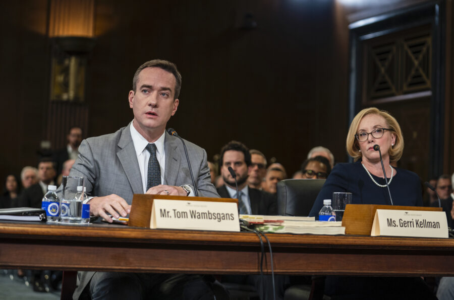 Tom and Gerri testify before Congress in the penultimate episode of Succession