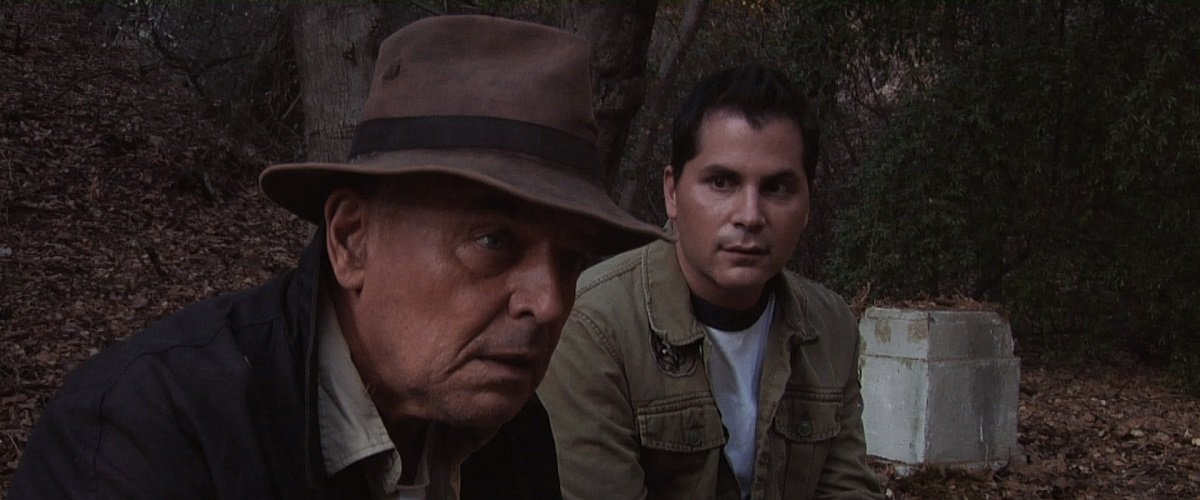Ray Wise and Adam Green starring in Digging up the Marrow directed by Adam Green