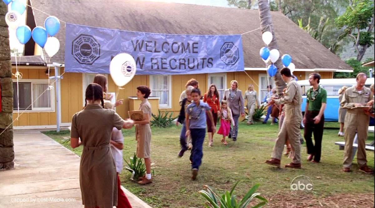 The new recruits arrive at the DHARMA barracks