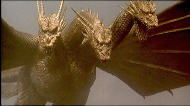 Ghidorah, the Three Headed Monster from Godzilla