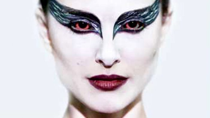 Close Up of the Black Swan
