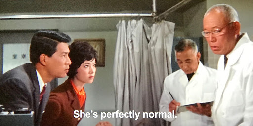 Doctors examine the Princess in Ghidorah