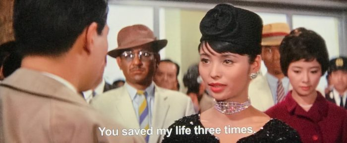 The Princess thanks Shindo for saving her life three times.