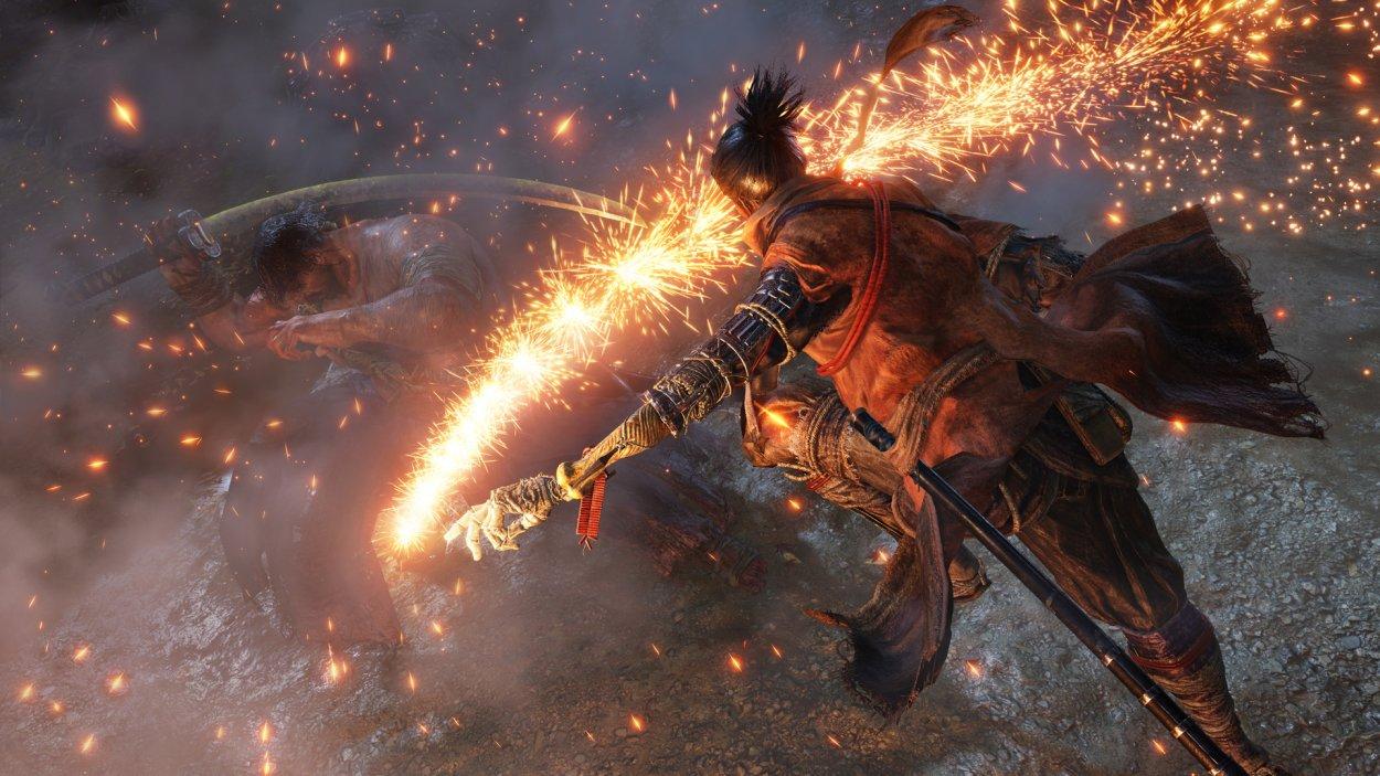 Ash as a weapon in Sekiro