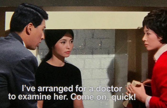 Shindo and The Princess when they decide to bring her to the doctors.
