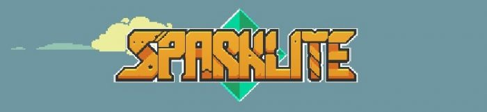 Sparklite title screen