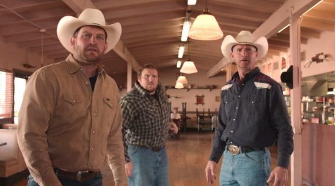 Judy's Diner the Three Cowboys