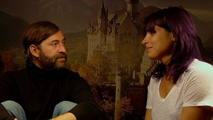 Josef and Sara talk together from Creep 2