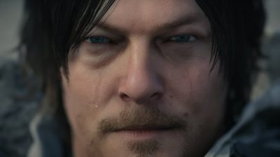 Norman Reedus Face in Death Stranding