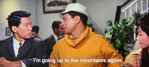 Technical Institute Team deciding to go into the mountains.