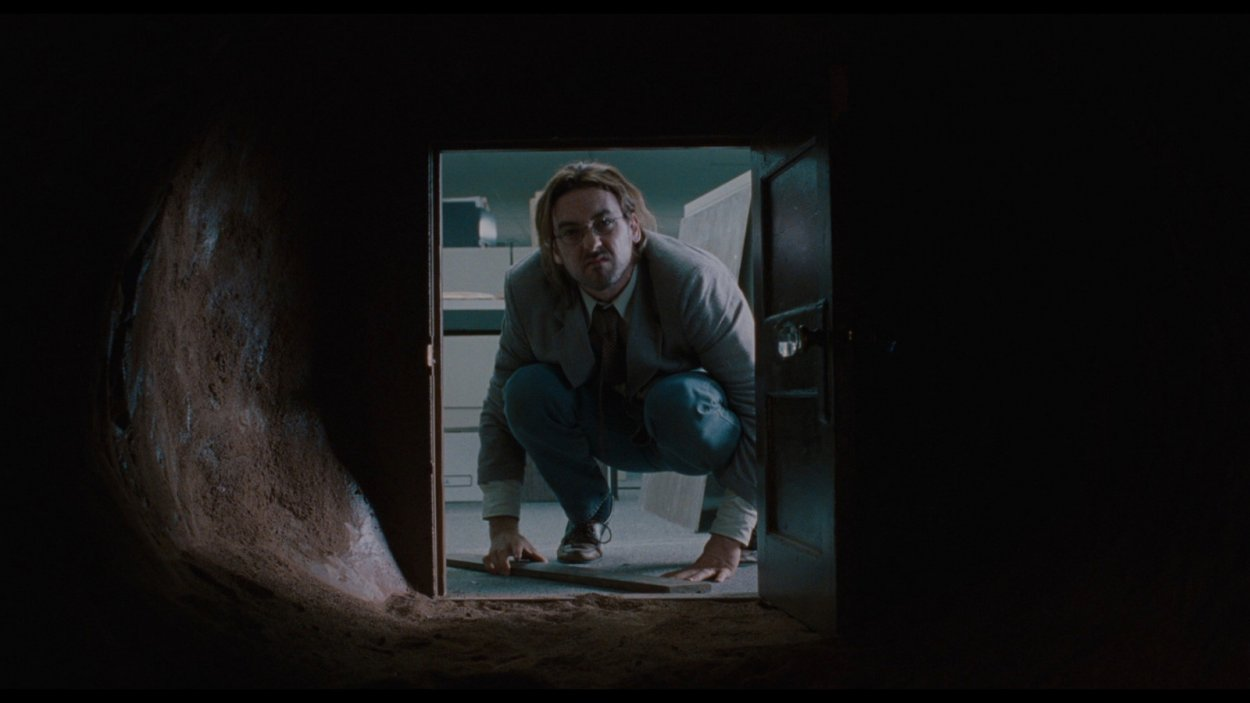Craig Schwarz peers into the portal into John Malkovichs head