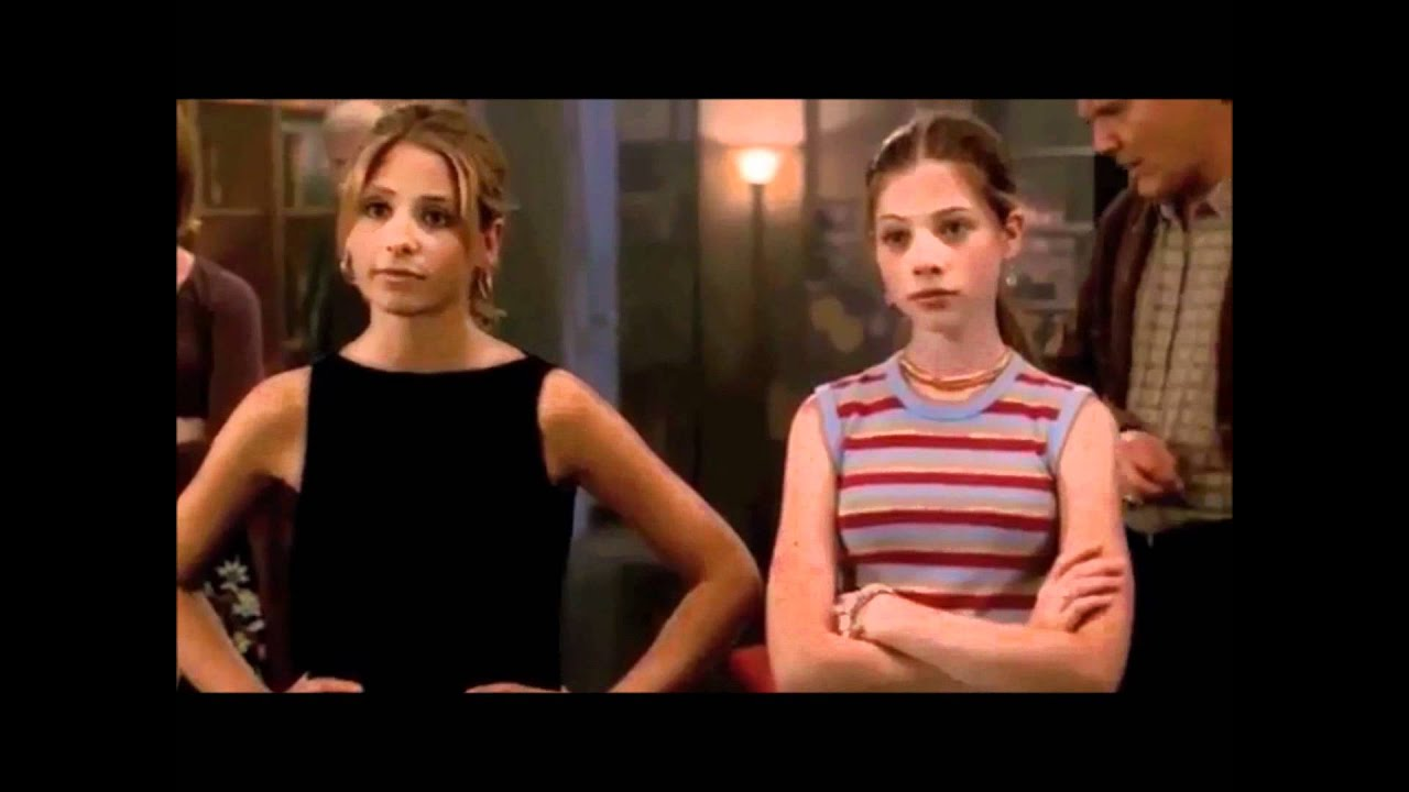 Buffy and Dawn stand off against Tara's family. They look not to be messed with.