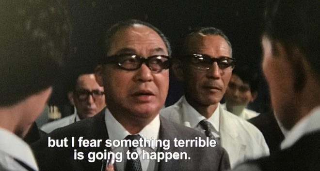 Ghidorah's UFO Expert forewarns the others