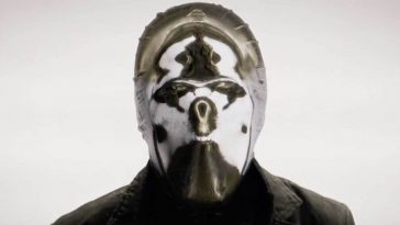 Looking Glass wearing his mask