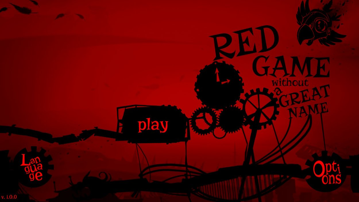 The Red Game Without a Great Name title screen