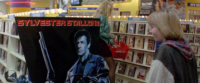 A boy sees an alternate reality where Sylvester Stallone was the Terminator in Last Action Hero