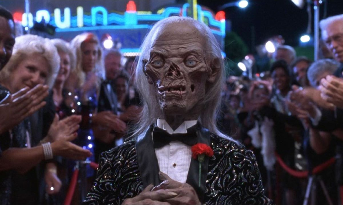 The Cryptkeeper puppet attends a Hollywood premiere in Tales from the Crypt: Demon Knight