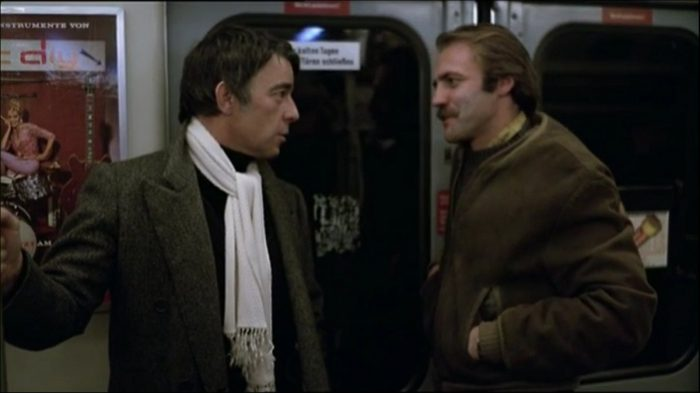 Raoul Minot and Zimmermann in the subway