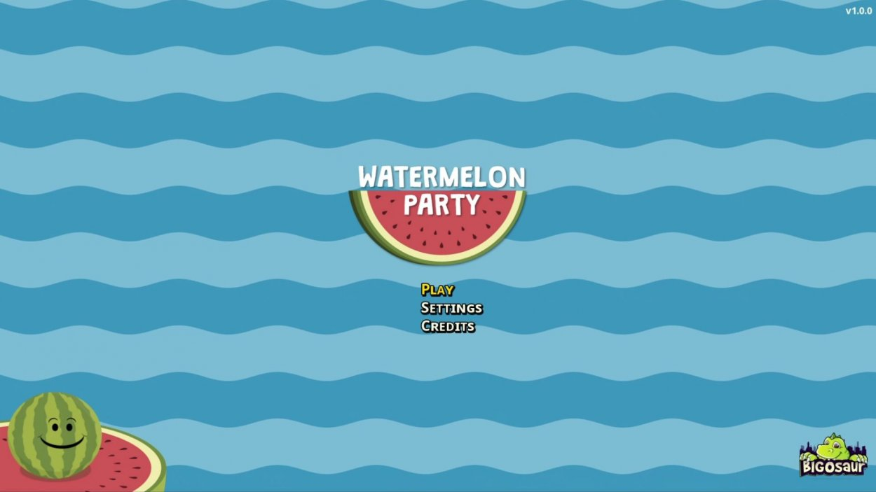 Watermelon Party Title Screen