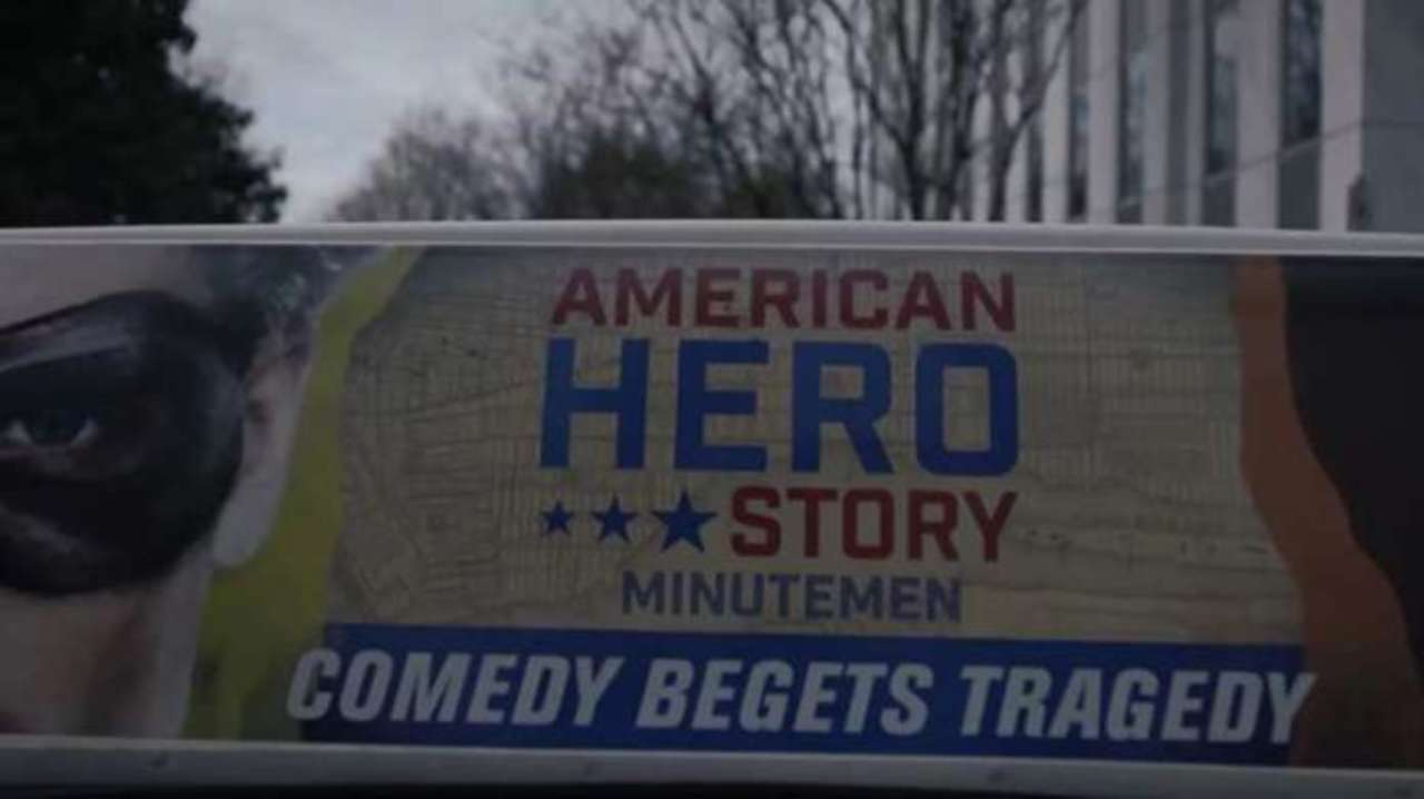 American Hero Story ad Watchmen