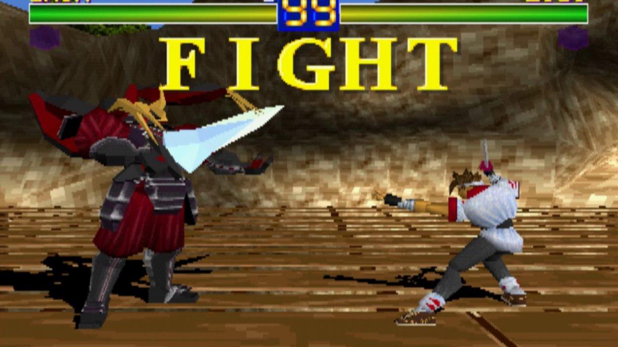 Battle Arena Toshinden Boss Battle