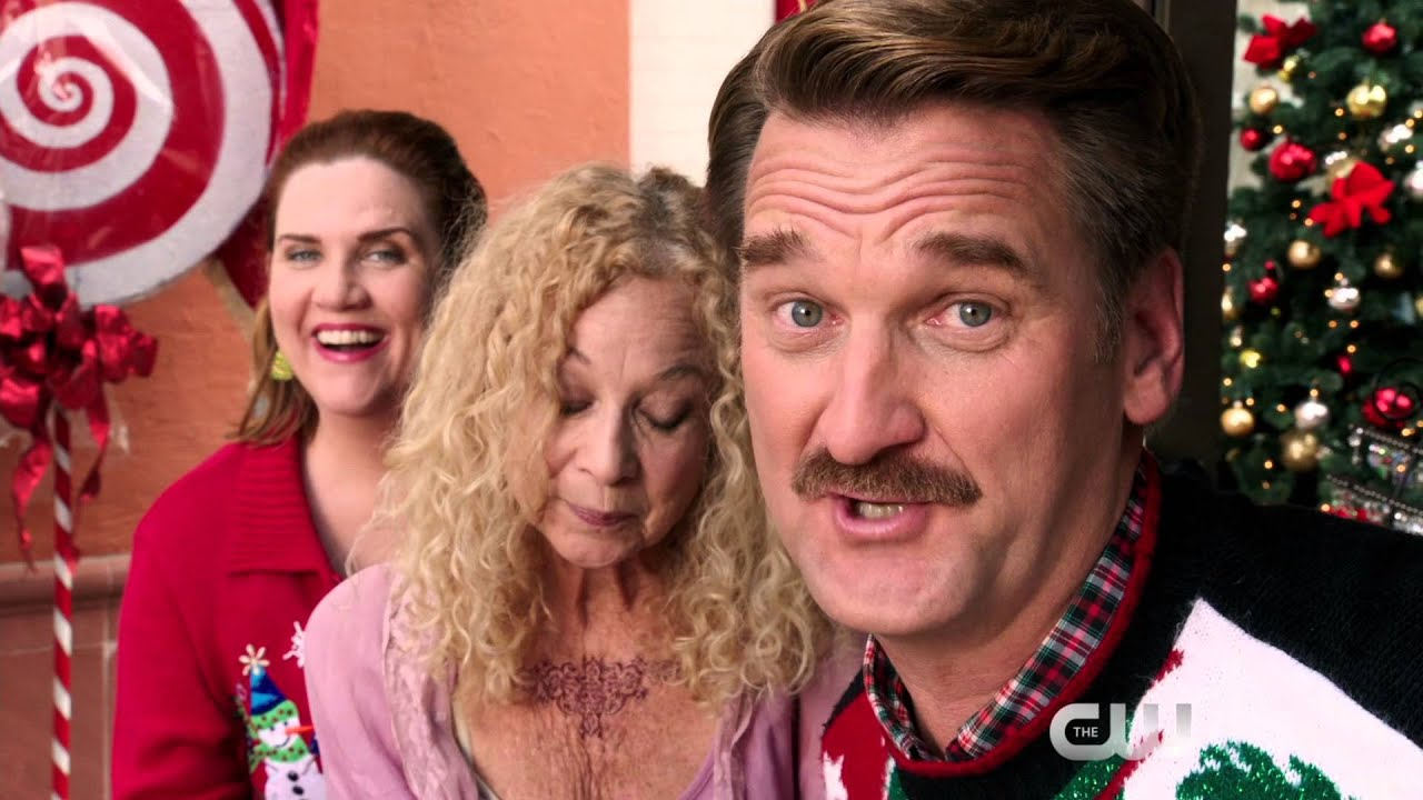Darryl, Carol, and Paula celebrate Christmas