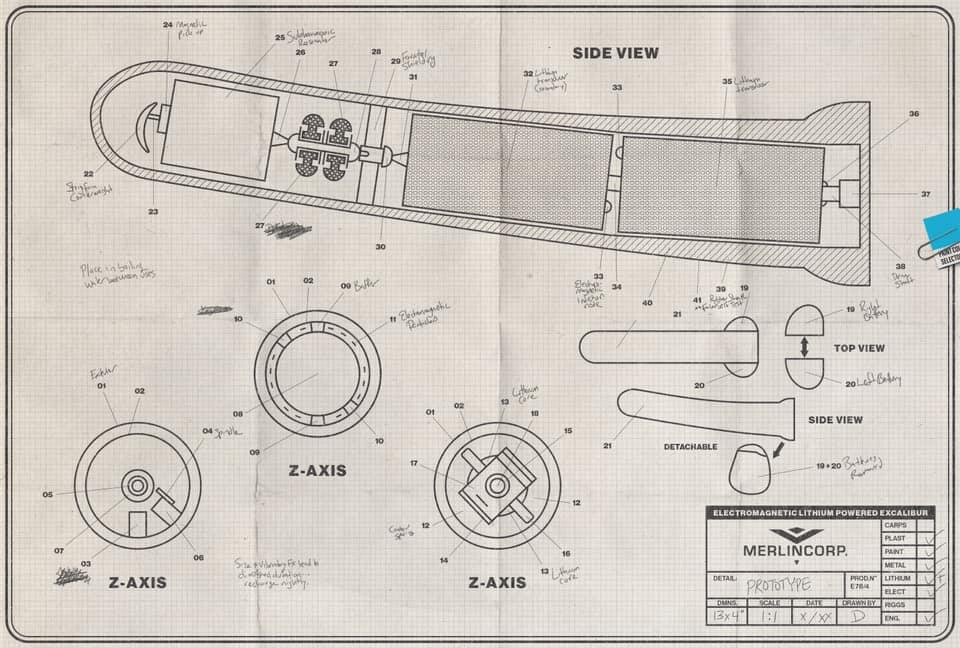 Excalibur dildo design