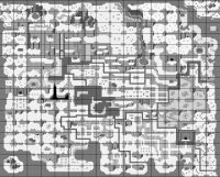 The map of Final Fantasy Adventure