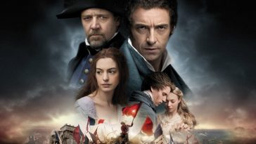 Montage of the characters in Les Miserables