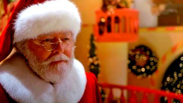 Richard Attenborough as Santa in a Miracle on 34th Street