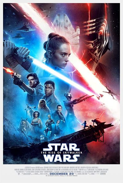 "The final poster for ""Star Wars: The Rise of Skywalker"""