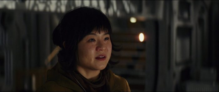 Rose Tico in the last jedi