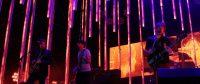 Radiohead performing live