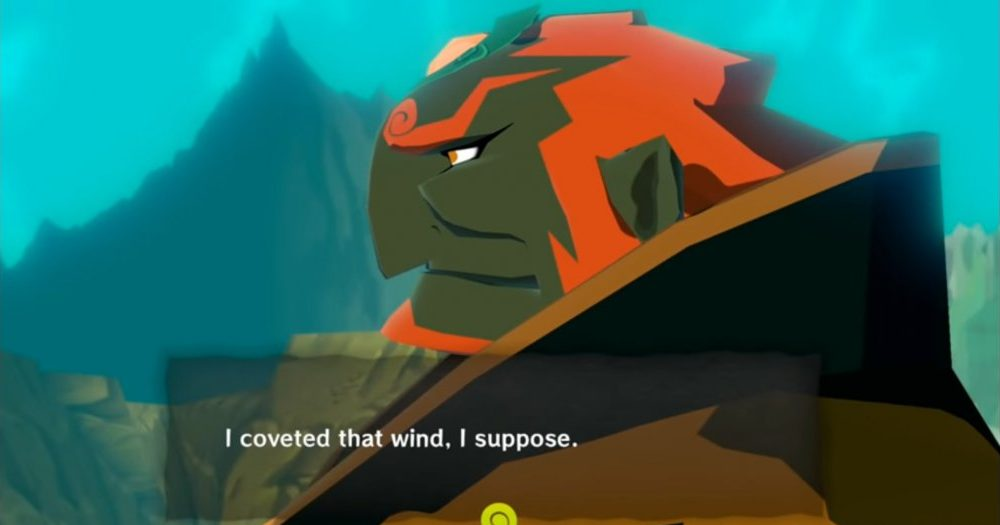 Ganondorf reflects on his actions.