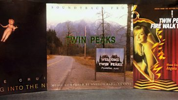 Twin Peaks, Twin PeaksF Fire Walk With Me and Floating Into the Night CD covers